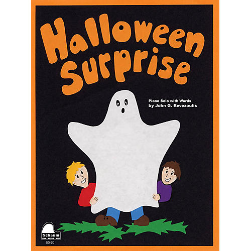 SCHAUM Halloween Surprise Educational Piano Series Softcover