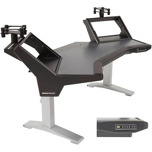 Argosy Halo Height Adjustable Plus (Includes Halo, 2 rack shelves, & Set of Speaker Platforms)-thumbnail