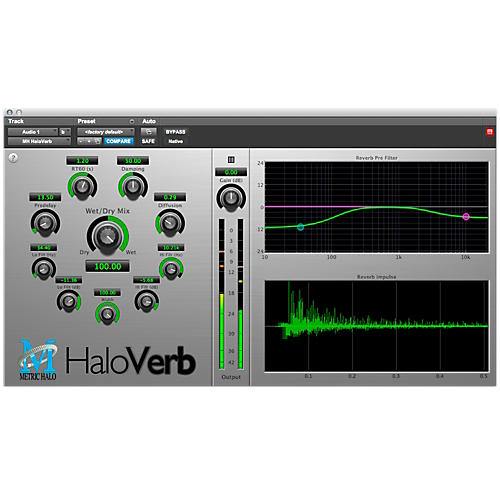 METRIC HALO HaloVerb for Pro Tools AAX Software Download