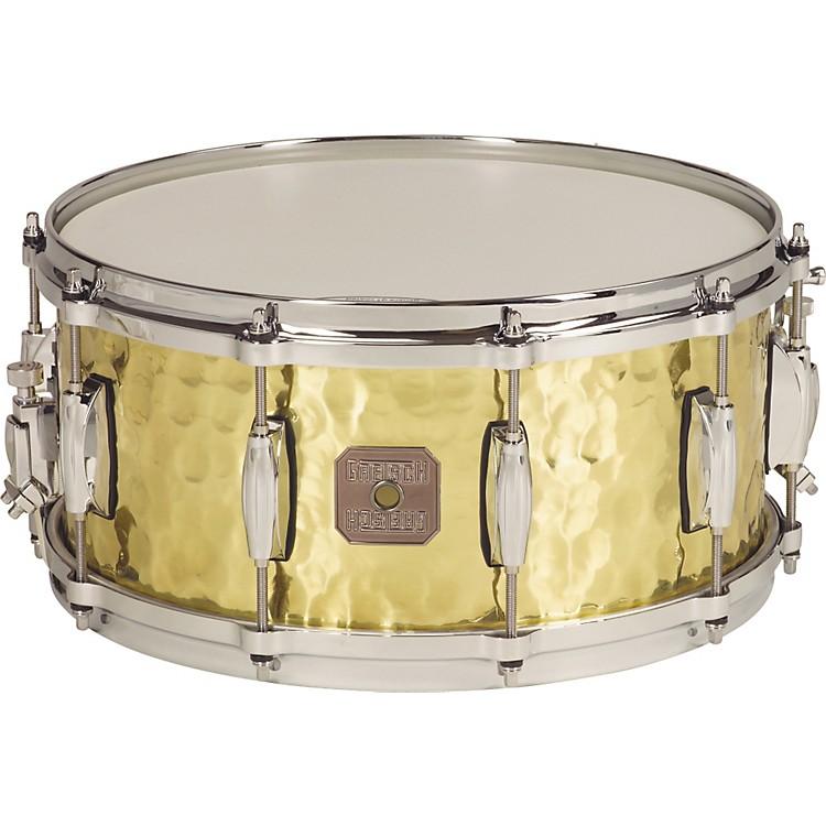 Gretsch DrumsHammered Brass Snare Drum