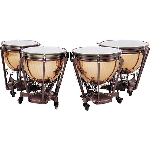 Adams Hammered Copper Symphonic Timpani Concert Drums 32 in.-thumbnail