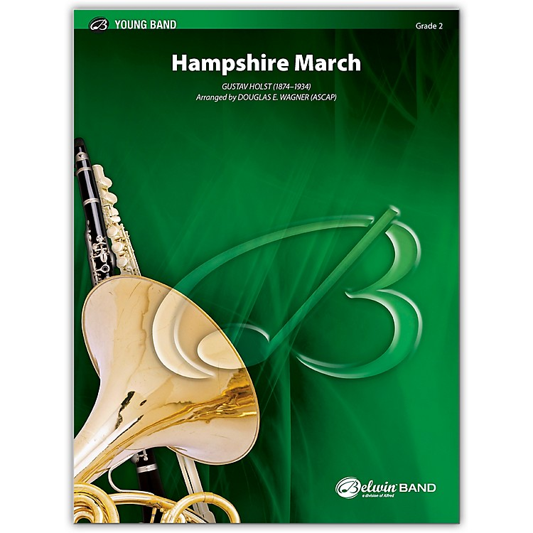 Alfred Hampshire March Concert Band Grade 2 Set
