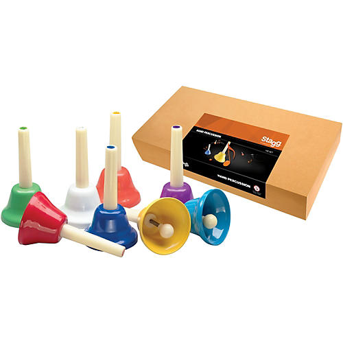 Stagg Hand Bell Set, 8 Notes, C-C-thumbnail