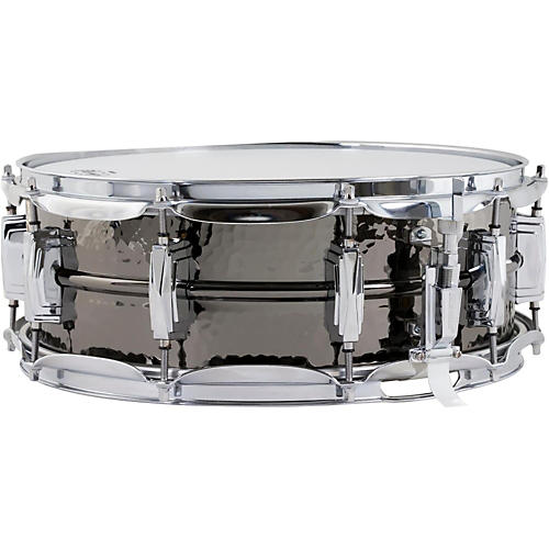 Ludwig Hand Hammered Black Beauty Snare Drum with Imperial Lugs 5 x 14