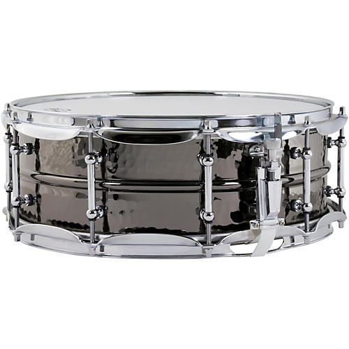 Ludwig Hand Hammered Black Beauty Snare Drum with Tube Style Lugs-thumbnail