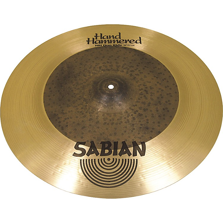 Sabian Hand Hammered Duo Ride Cymbal 20