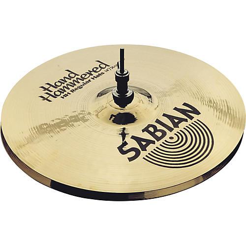 Sabian Hand Hammered Medium Hi-Hat Cymbals Brilliant