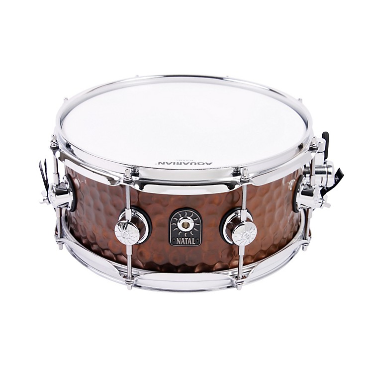 Natal DrumsHand Hammered Series Snare DrumNickel13x5.5