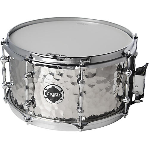 Crush Drums & Percussion Hand Hammered Steel Snare Drum