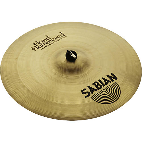 Sabian Hand Hammered Vintage Ride Cymbal Brilliant 21