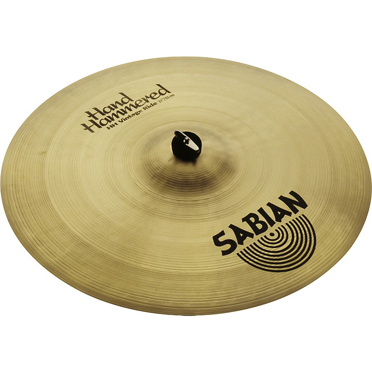 Sabian Hand Hammered Vintage Ride Cymbal Brilliant 21