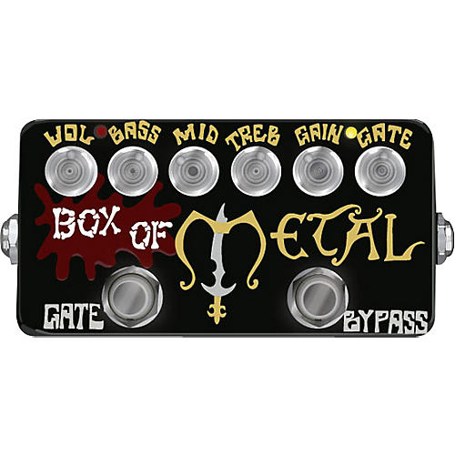 ZVex Hand-Painted Box of Metal Distortion Guitar Effects Pedal