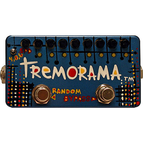 ZVex Hand-Painted Tremorama Tremolo Guitar Effects Pedal
