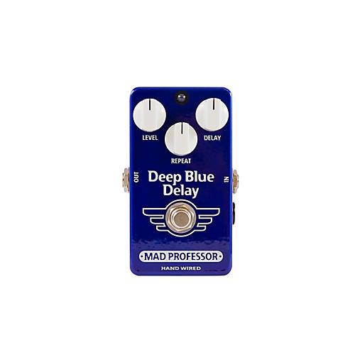 Mad Professor Hand Wired Deep Blue Delay Guitar Effects Pedal-thumbnail