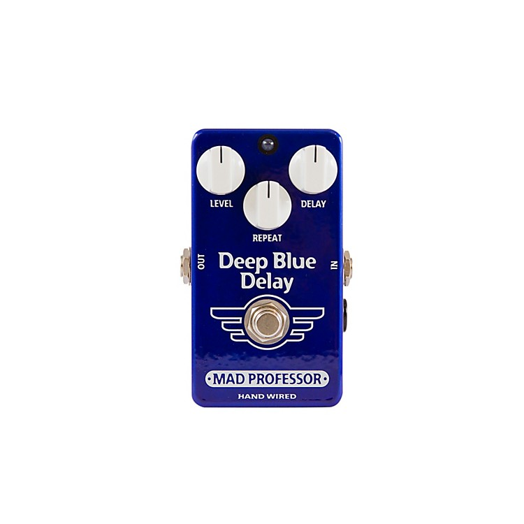 Mad Professor Hand Wired Deep Blue Delay Guitar Effects Pedal