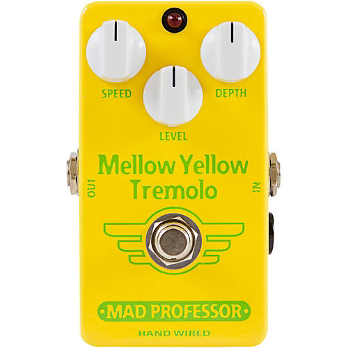 Mad Professor Hand Wired Mellow Yellow Tremolo Guitar Effects Pedal