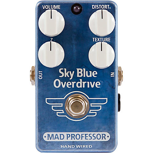 Mad Professor Hand Wired Sky Blue Overdrive Guitar Effects Pedal