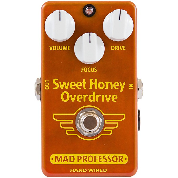 Mad Professor Hand Wired Sweet Honey Overdrive Guitar Effects Pedal
