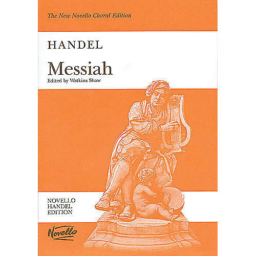 Music Sales Handel Messiah (Shaw) Vocal Score Paperback