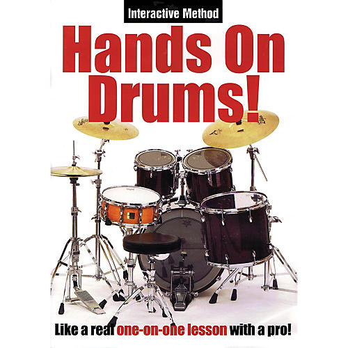Music Sales Hands On Drums! (Interactive Method) Music Sales America Series DVD Written by James Sloan-thumbnail