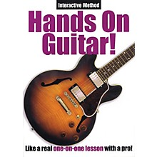 Music Sales Hands On Guitar! (Interactive Method) Music Sales America Series DVD Written by Alan Miller