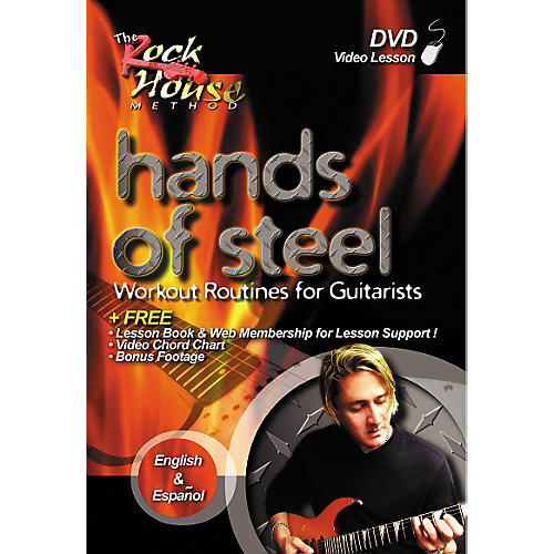 Rock House Hands of Steel - Workout Routines for Guitarists DVD