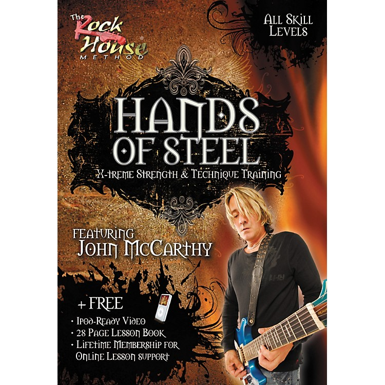 Rock House Hands of Steel - X-Treme Strength & Technique Training, Featuring John McCarthy (DVD)