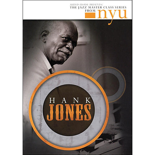 Hal Leonard Hank Jones - The Jazz Master Class Series From NYU (DVD)