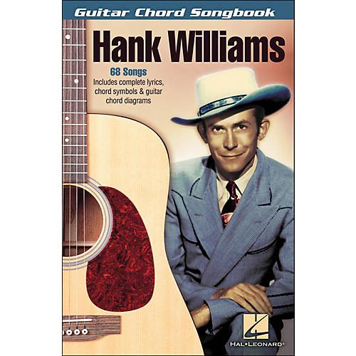 Hal Leonard Hank Williams - Guitar Chord Songbook-thumbnail