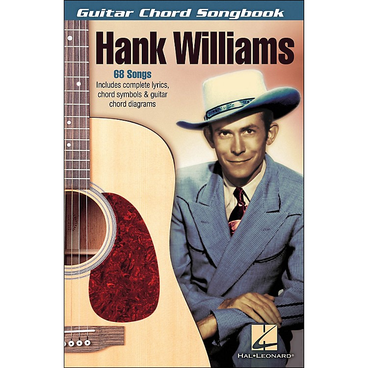 Hal Leonard Hank Williams - Guitar Chord Songbook