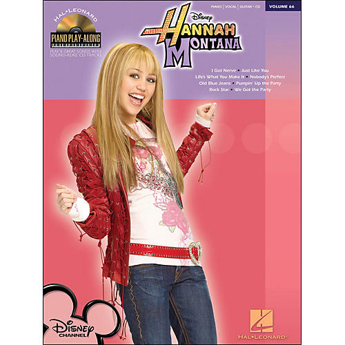 Hal Leonard Hannah Montana - Piano Play-Along Volume 66 (CD/Pkg) arranged for piano, vocal, and guitar (P/V/G)