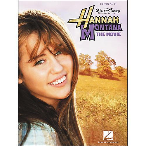 Hal Leonard Hannah Montana - The Movie for Big Note Piano