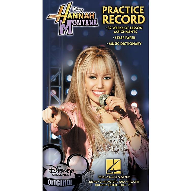 Hal LeonardHannah Montana Practice Record