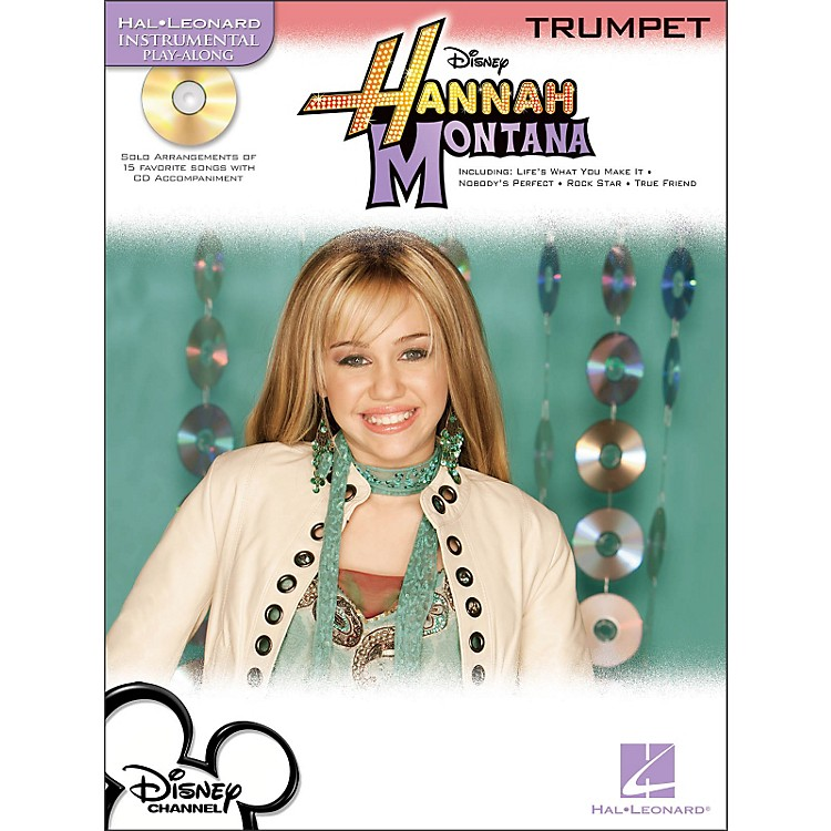 Hal Leonard Hannah Montana for Trumpet - Instrumental Play-Along Book/CD Pkg