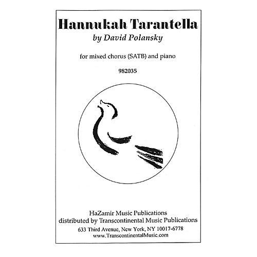 Transcontinental Music Hannukah Tarantella SATB arranged by Joshua Jacobson-thumbnail