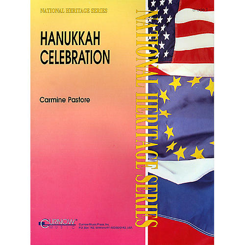 Curnow Music Hanukkah Celebration (Grade 1 - Score and Parts) Concert Band Level 1 Composed by Carmine Pastore-thumbnail