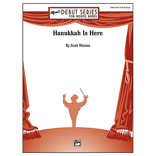 Alfred Hanukkah Is Here Grade 1 (Very Easy)-thumbnail