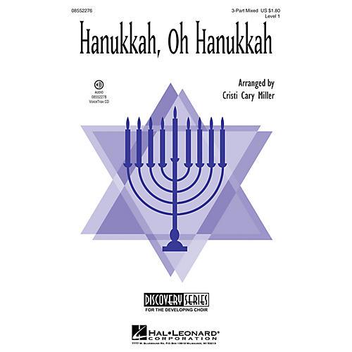 Hal Leonard Hanukkah, Oh Hanukkah (Discovery Level 1) VoiceTrax CD Arranged by Cristi Cary Miller-thumbnail
