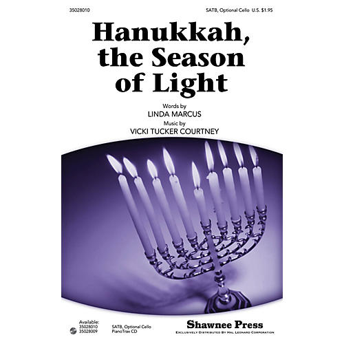 Shawnee Press Hanukkah, the Season of Light SATB composed by Vicki Tucker Courtney-thumbnail