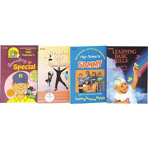 Educational Activities Hap Palmer Video Set Dvd