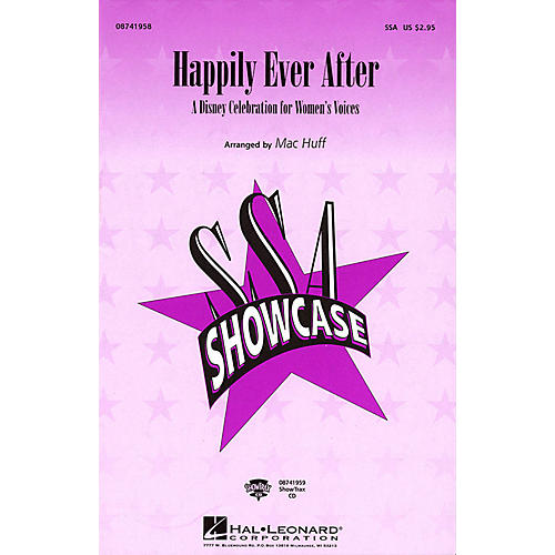 Hal Leonard Happily Ever After - A Disney Celebration for Women's Voices (Medley) ShowTrax CD Arranged by Mac Huff