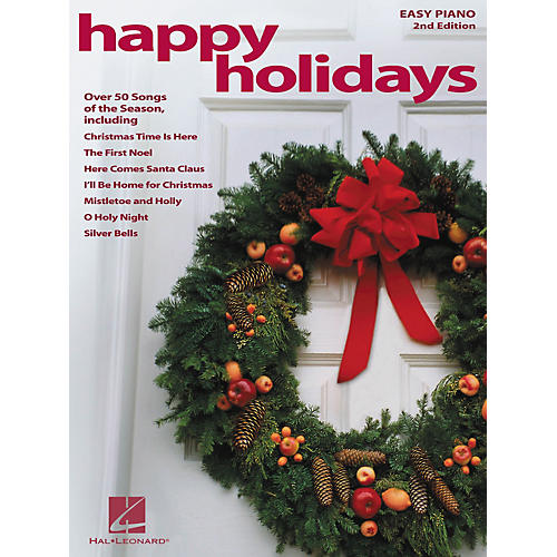 Hal Leonard Happy Holidays 2nd Edition For Easy Piano-thumbnail
