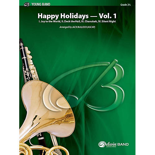 Alfred Happy Holidays, Vol. 1 Concert Band Grade 2 Set-thumbnail