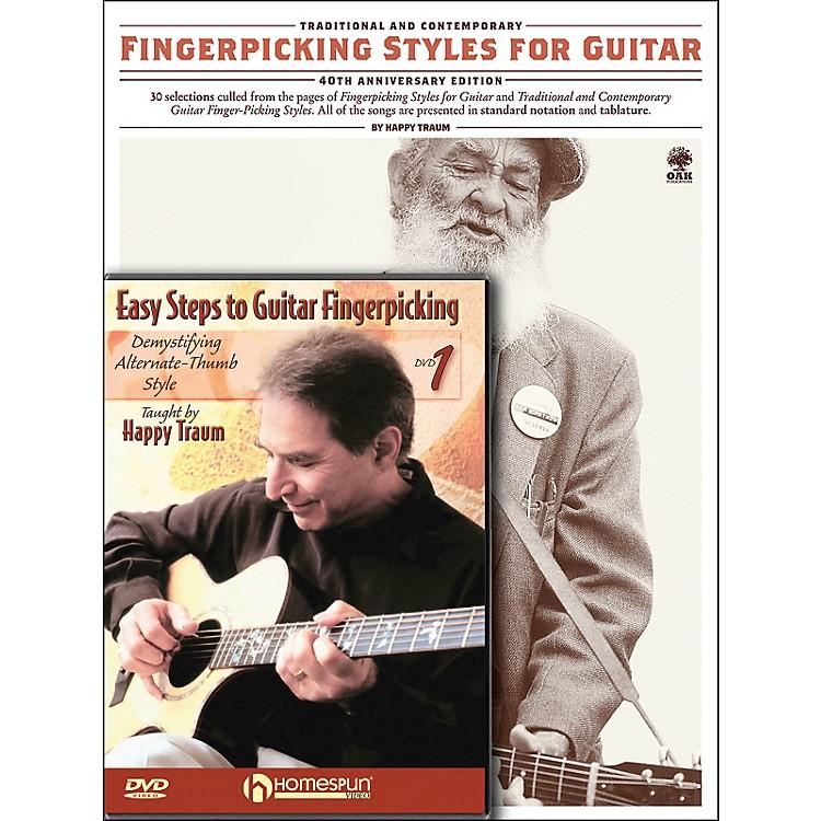 HomespunHappy Traum Fingerpicking Guitar Mega Pack