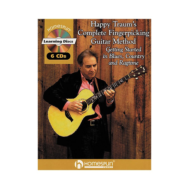Homespun Happy Traum's Fingerpicking Method CD Set