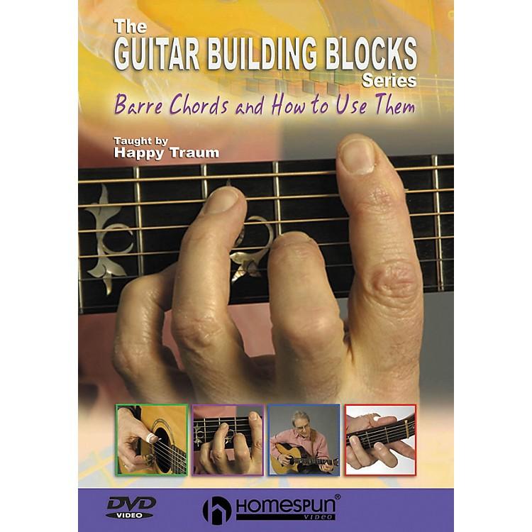 HomespunHappy Traum's Guitar Building Blocks: Bar Chords 1 (DVD)