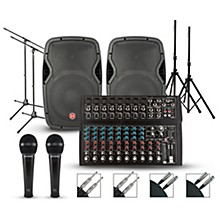 Harbinger Harbinger L1402FX Mixer with Harbinger Vari PA Package