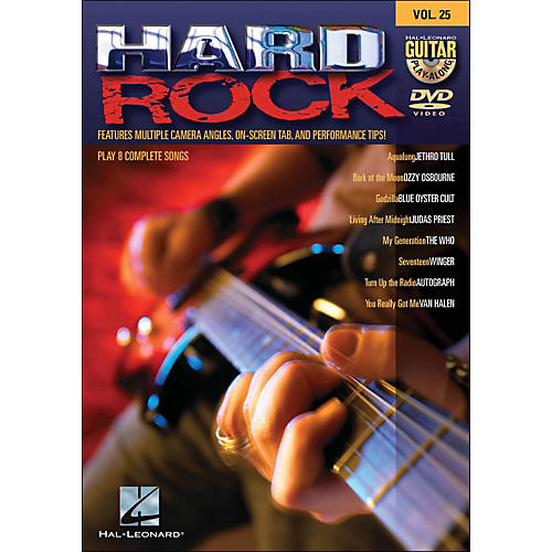 Hal Leonard Hard Rock - Guitar Play-Along DVD Volume 25