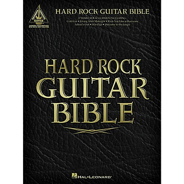 Hal Leonard Hard Rock Guitar Bible Tab Songbook