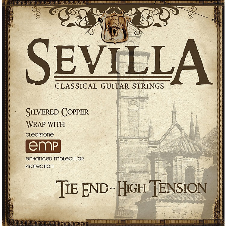 Sevilla Classical Guitar StringsHard Tension Classical Tie-On Guitar Strings